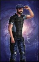 Mass Effect: Jeff ''Joker'' Moreau by Lukael-Art