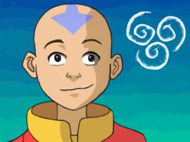 Avatar Aang by Taiel