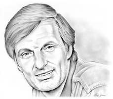 Alan Alda by gregchapin