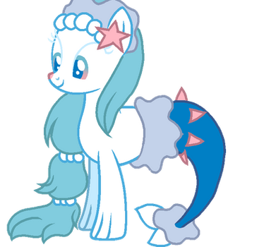 DOLL: Primarina pony by Minions-and-Ponies