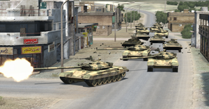 Tanks in Urban Combat by BillyM12345