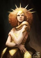 Goddess Gold by Piky