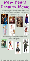 Cosplay Meme 2014 by Flanna
