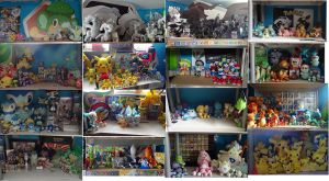 My whole Pokemon collection 1 by TOADMA