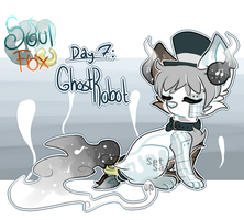 [SoulFox Advent] Day 7: Ghost Robot by SetSaiI
