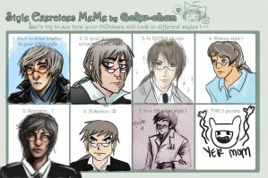 Style Meme by wingedness