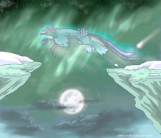 Jumping over the Moon by griffsnuff