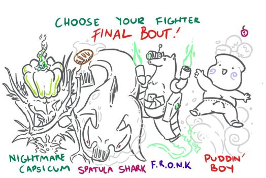Choose Your Fighter R1-Finals by MatthewJWills
