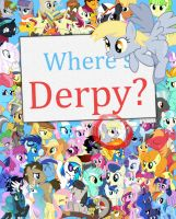 Where's Derpy Book Cover by DirtPoorRiceKing