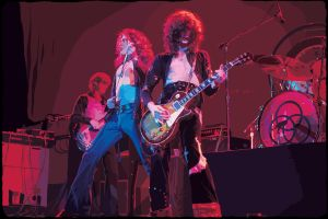 Led Zeppelin by ginan