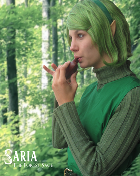Saria Cosplay by Goldencloud
