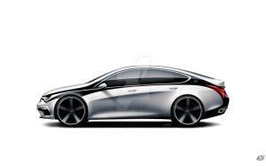 FLOW sportback concept by 5-G