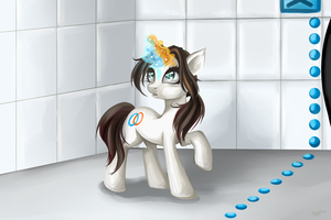 Pony Chell by HappyKsu