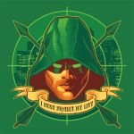 A City's Protector, on TEEFURY.COM, 1/3/15 by nakedDerby