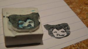 Snorlax Stamp by kyra10987