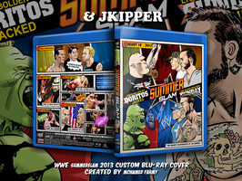 jkipper and Mohamed fahmys Summerslam 2013 cover by Mohamed-Fahmy