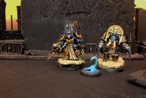 Thousand Sons Tzeentch Terminators by IgenSTilch