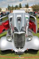 1934 Coupe front on by RaynePhotography