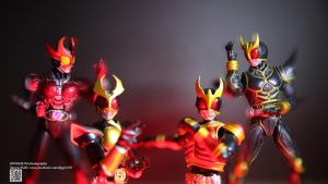 SHF Kamen Rider Kuuga Agito Ground Burning Form by Digger318