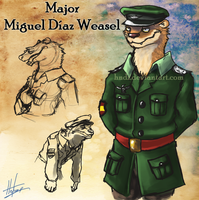Soldiers: Major Weasel by Hndz