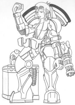 Power Armor by Arenoth