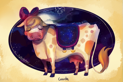 Gouda the Cow by Sylladexter