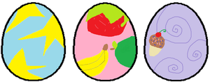 Pony Egg Adoptables (2 more left!) by Apple-Jack1000
