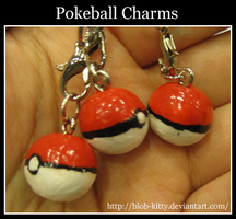Pokeball Charm by ShinyCation