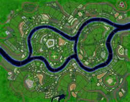 Capital city of the kingdom of Novrenia Complete by nsam85