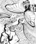 Zhuangzi and the Butterfly by squonkhunter