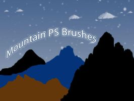 Mountain Photoshop Brushes by petermarge