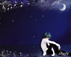 ikuto wallpaper by mewtamara