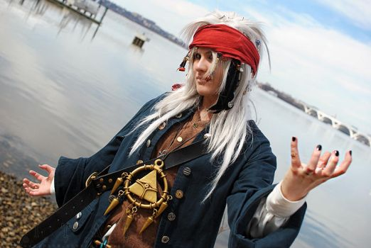 Pirate Bakura by setsuntamew