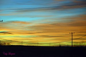 Sky Of Colors I by ChickensAndDucks