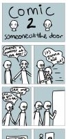 Mustacheo and Baldy comic 2 by Fraped