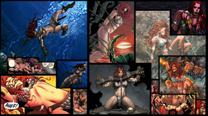 Red Sonja bound comic by benja100