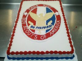 Eagle Scout Cake by KauseNeffect