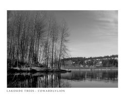 Lakeside Trees by Cowardlylion
