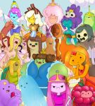 The Princesses of Adventure Time by VvibrantcolorsS