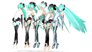 MMD Diva Appends by willianbrasil
