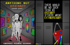 Yearbook Cover 2010-2011 by greensubmarine