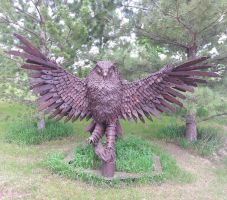 Owl Ironworks by LucMac1
