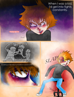 Glee.Stuck Chapter one Page three by ERGleeson