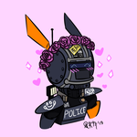Happy Chappie-Flower Crown by Rebecca-Bear7