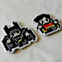 Batman and Robin Magnets by agorby00