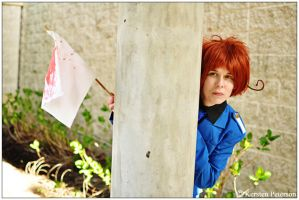 Hetalia: Hiding From War by CosplayerWithCamera