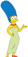 Marge Simpson by MollyKetty