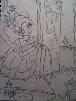 Tenten~ Autumn (uncolored) by TwinDragons0309