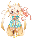 Young Kitsune Loli [Adoptable OPEN] by ValyrianAdopts