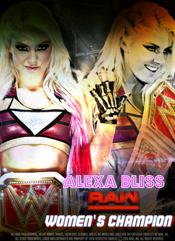 Alexa Bliss Poster 2017 by SidCena555